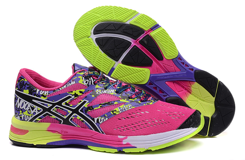chaussure course a pied femme asics